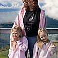 Quinn, Kim & Gabbie at Alyeska