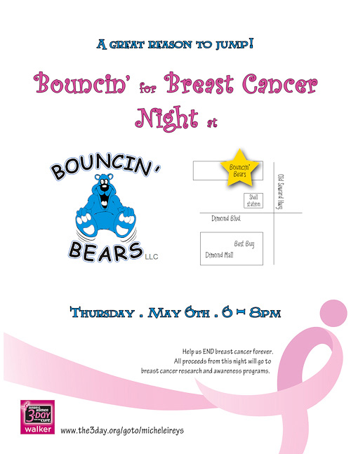 Bouncin bears anchorage coupons